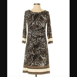 Haani Animal Print Sheath Dress